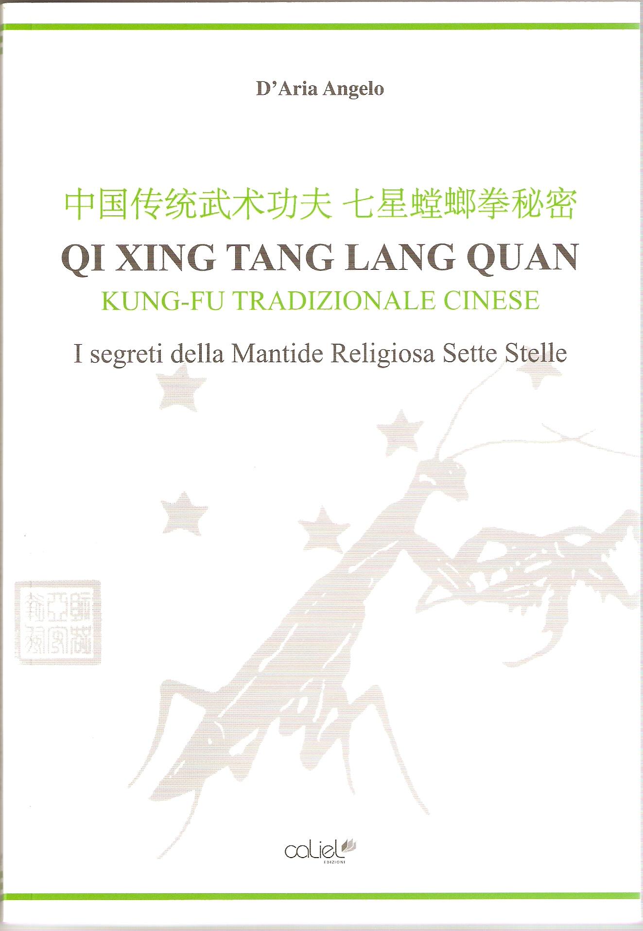 Libro ( I Segreti del QI XING TANG LANG QUAN) by D'ARIA ANGELO