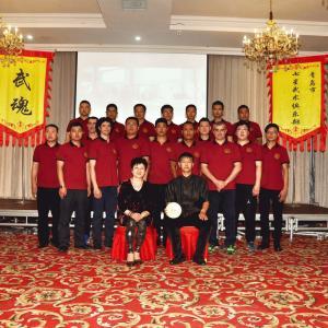 Chen LePing DaShi  e TuDi  陈乐平大师和徒弟们