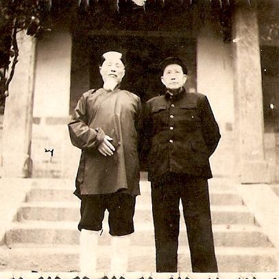 G.M. LI ZHAN YUAN director og TAI QING GONG MONASTERY 1980