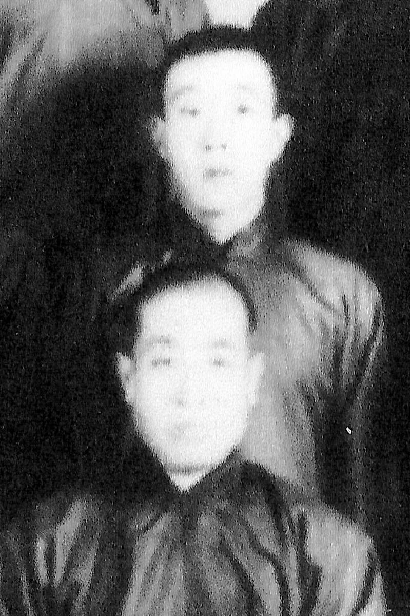 G.M. HU RONG FU e il G.M. LI ZHAN YUAN  1924